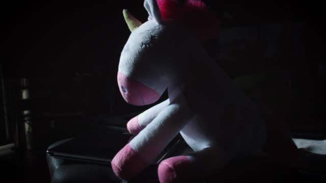 4K Trendy Unicorn Soft Toy with Tablet video