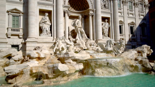 Trevi-Brunnen in Rom, Italien – Video