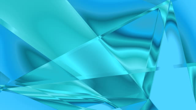 Triagle waves background video