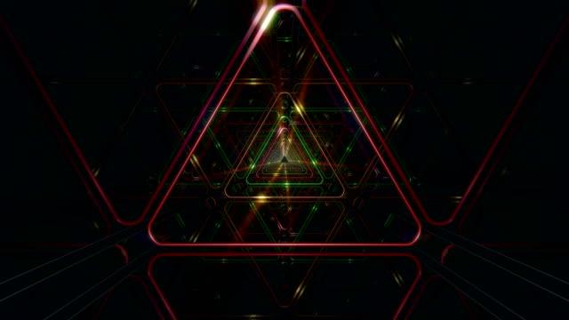 VJ Triangle Loop video