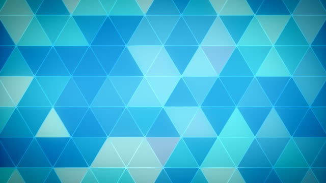 Triangle Polygon Loop 01 Winter video