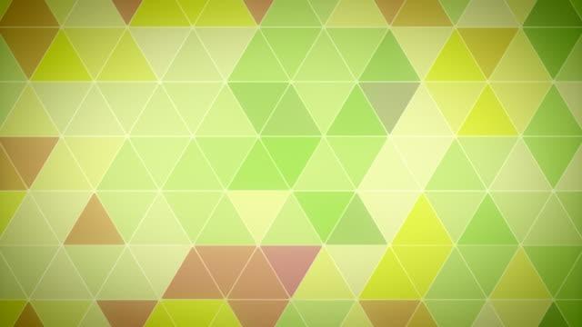Triangle Polygon Loop 05 Garden video