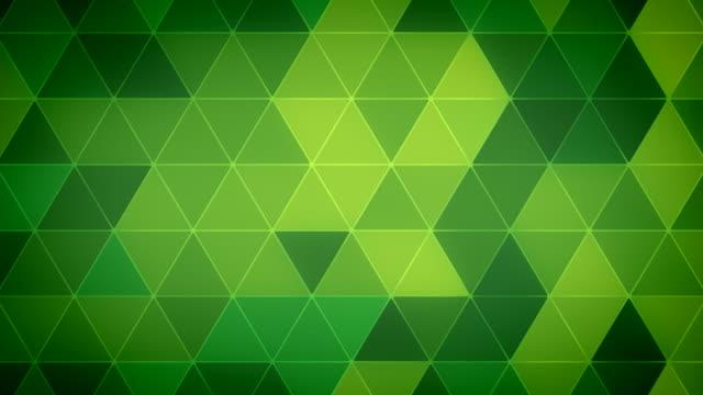 Triangle Polygon Loop 12 Emerald video