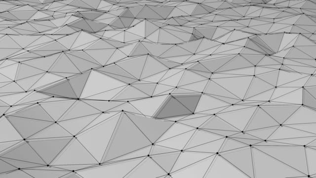 Triangle Polygons Background Loopable Animation