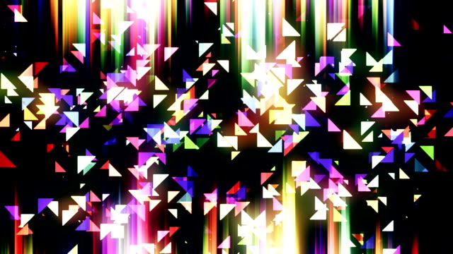 Triangles background animation loop