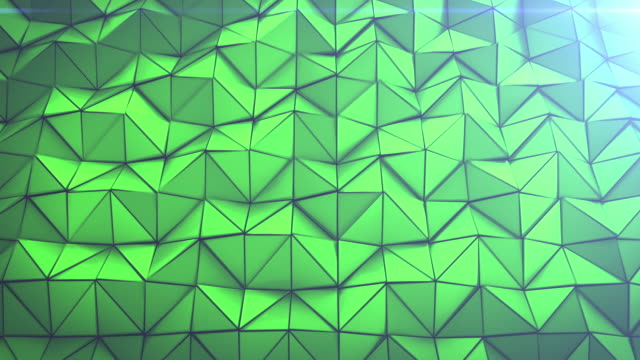4K Triangles Background video