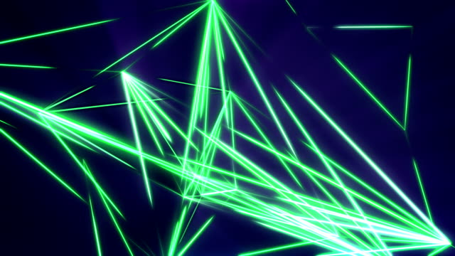 Triangulate, Looping Background video