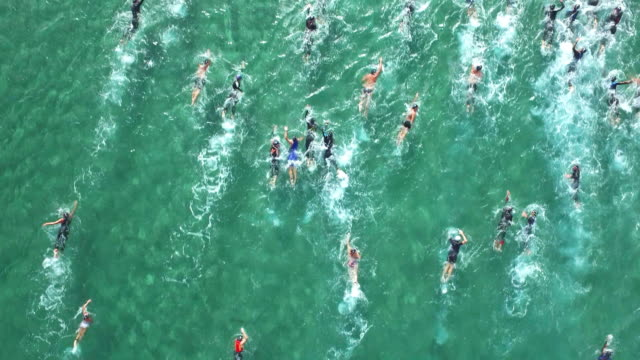 Triathlon Swimming video