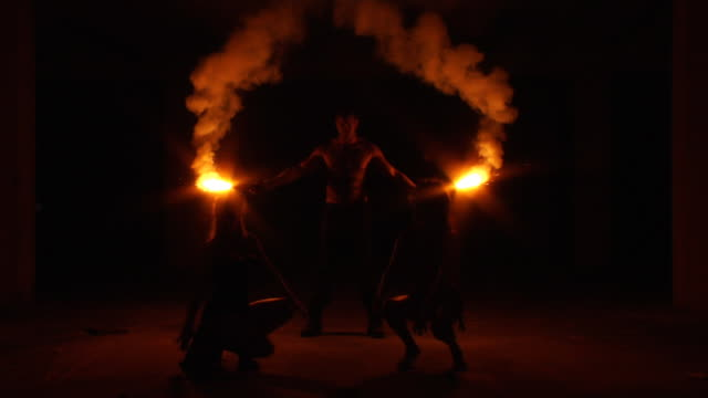 Tribe Fire Silhouette video