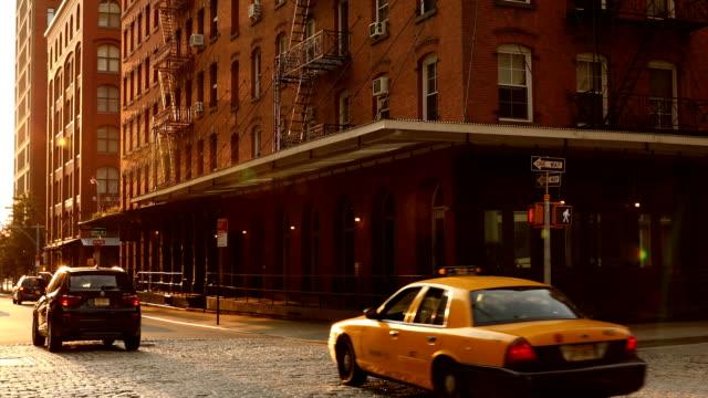 Tribeca Street Scene video