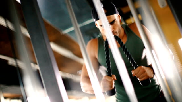 Triceps workout. video