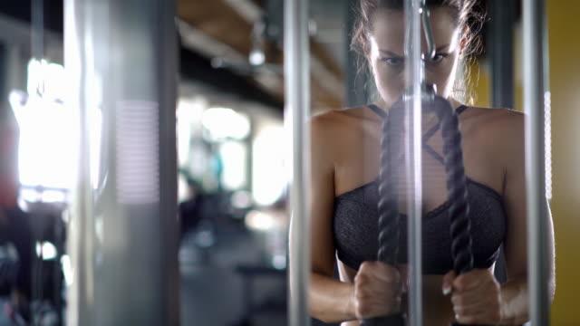 vidéos et rushes de triceps entraînement. - vidéos de rallonge électrique