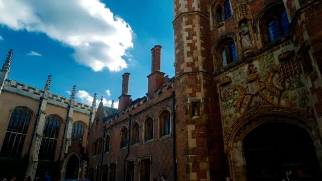 Trinity College, Cambridge, England, UK video