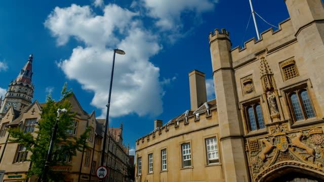 Trinity College University in Cambridge, England, UK video