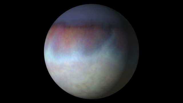 Triton satellite. video