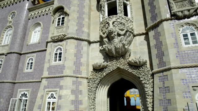 Triton sculpture Pena Palace video