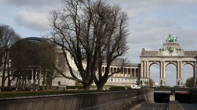 Triumphal Arch in Brussel