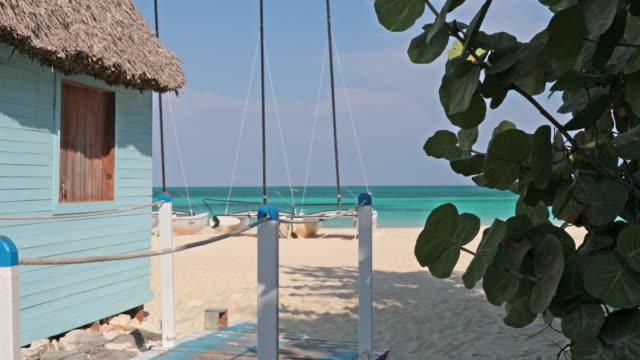 Tropical Beach Landscape, Cayo Coco, Cuba video