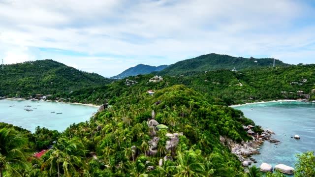 Tropical beach paradise: Beautifu beach with the tropical sea (Koh Tao Island, Thailand) video