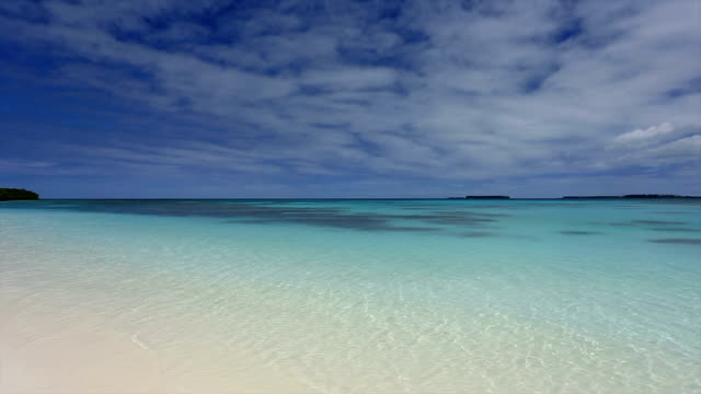 Tropical Beach Paradise, Isle of Pines, New Caledonia video