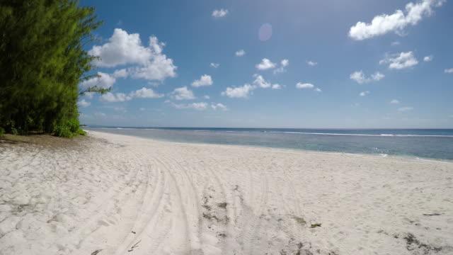vídeos y material grabado en eventos de stock de playa tropical - micronesia