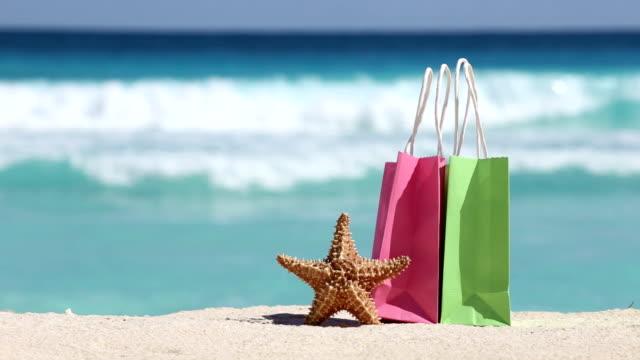 Celebración en la playa Tropical - vídeo
