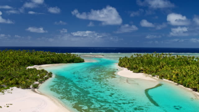 Tropical Island in South Pacific video