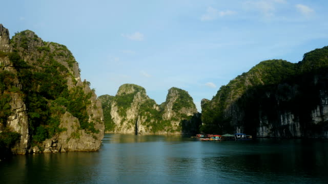 Tropical Islands of Halong Bay Vietnam video