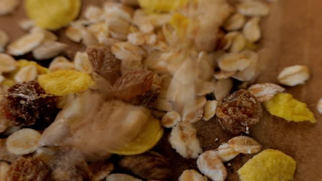 Tropical Muesli. Healthy breakfast option. video