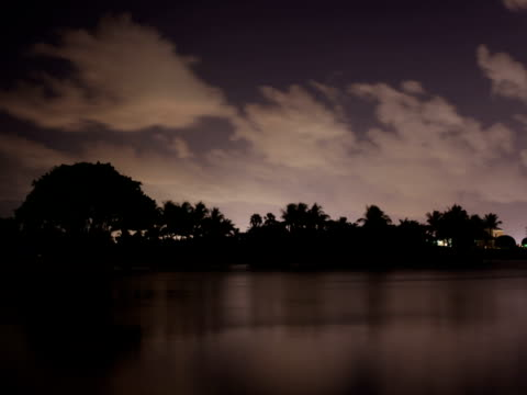 Tropical Night Sky video