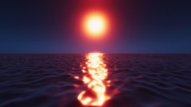 Tropical Sunset Minimalist video