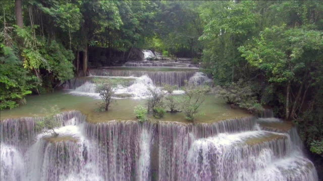 Tropical Waterfall Thailand. video