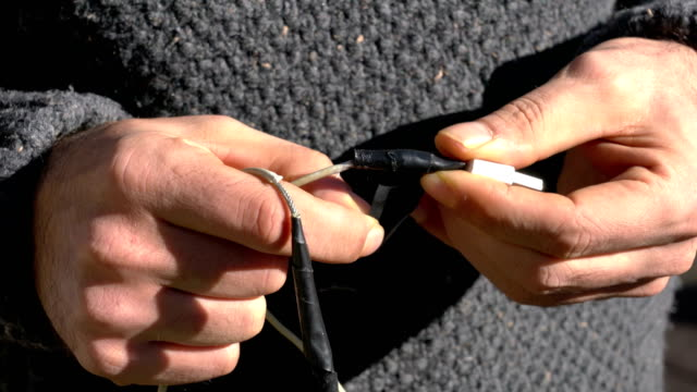 Troubles with smartphone charge cable Troubles with smartphone charge cable bluetooth stock videos & royalty-free footage