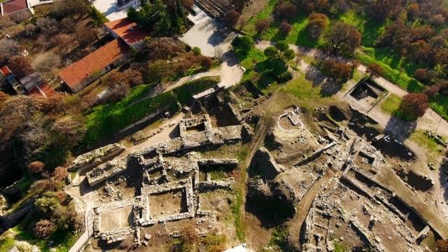 troy. - archeologia video stock e b–roll