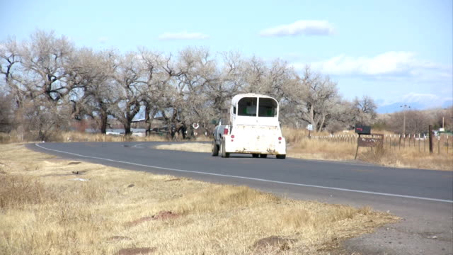 HD: Truck and Stock or Horse Trailer video
