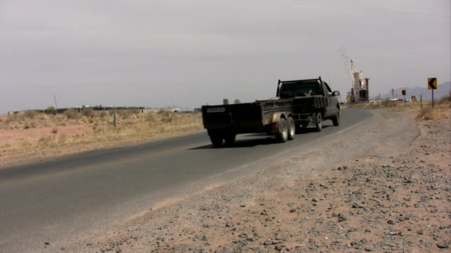 Truck and Trailer Traveling video