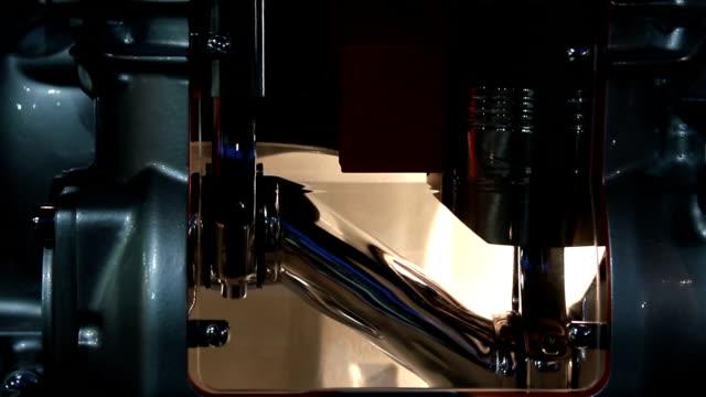truck diesel engine pistons and camshaft work truck diesel engine pistons and camshaft work crank mechanism stock videos & royalty-free footage