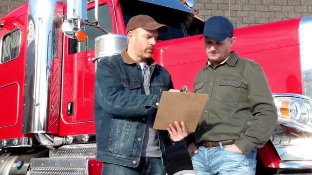 Truck Driver Conversation video