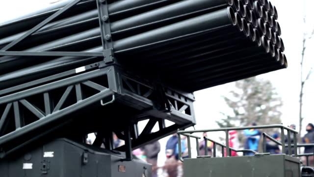 Truck Rockets Launcher video