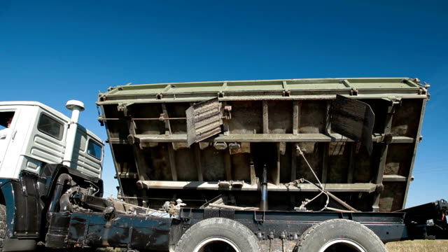 Truck Side Dumping video