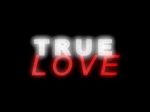 true love - simbolo concettuale video stock e b–roll