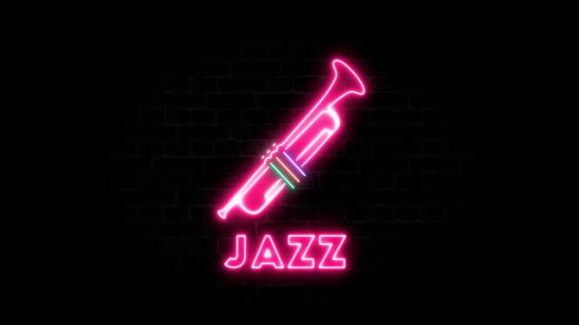 vídeos de stock e filmes b-roll de trumpet and jazz - bar local de entretenimento