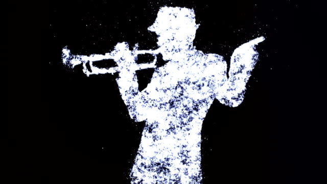 trumpet player video