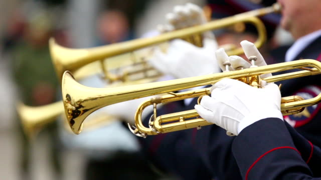 trumpeters military band video