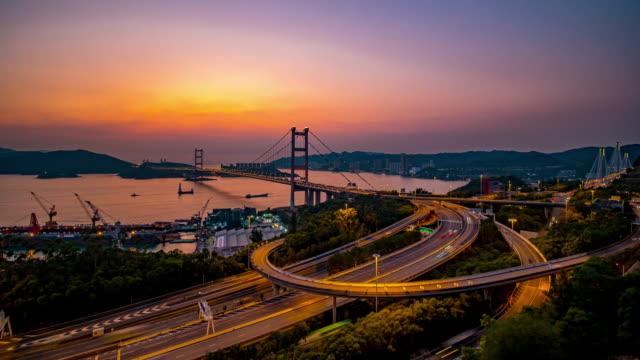 Tsing ma bridge landscape of Hongkong