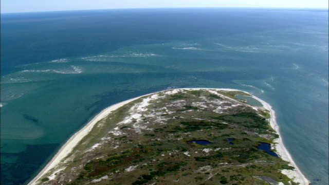 Tuckernuck Island  - Aerial View - Massachusetts,  Nantucket County,  United States video