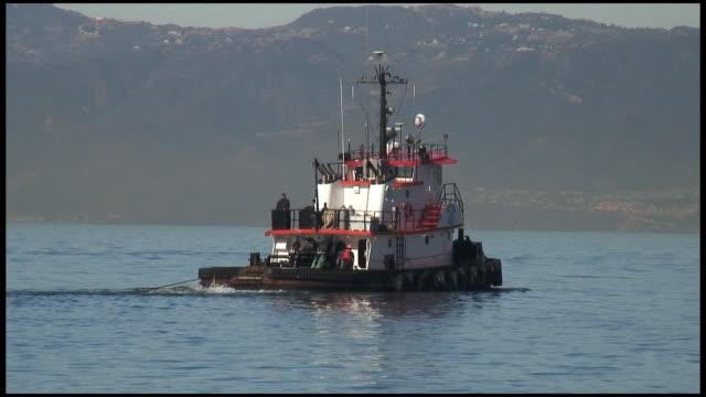 (HD1080i) Tug Boat Passes video