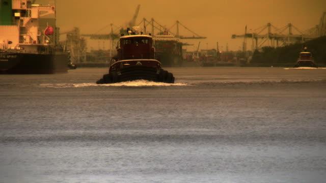 Tug Boat video