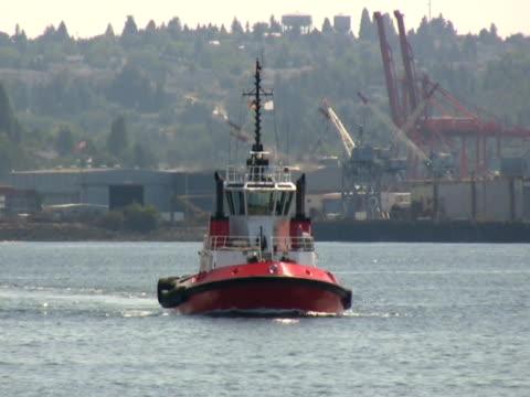 Tugboat Approaching (NTSC) video