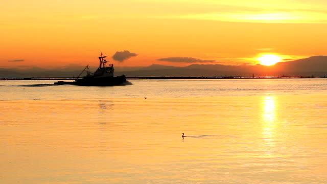 Tugboat at Sunset, Steveston video
